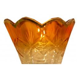 شمعدان پایه برنج نارنجی 2025
