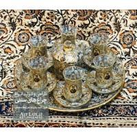 سرویس چایخوری سنتی شاه عباسی