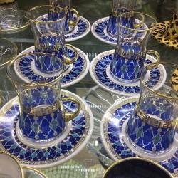 چای خوری ترکیه ای طرح آبی