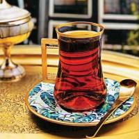 استکان نعلبکی استانبول