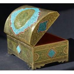 جعبه جواهرات فیروزه کوب 027