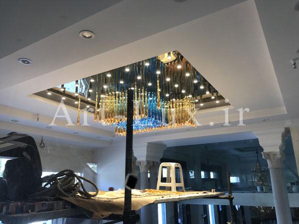 فیلم نصب لوسترهای سقفی