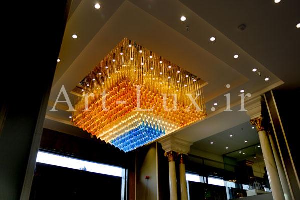 آموزش نصب لوسترهای سقفی بزرگ