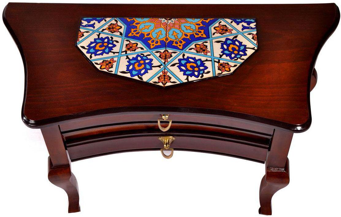 میز کنسولی چوبی