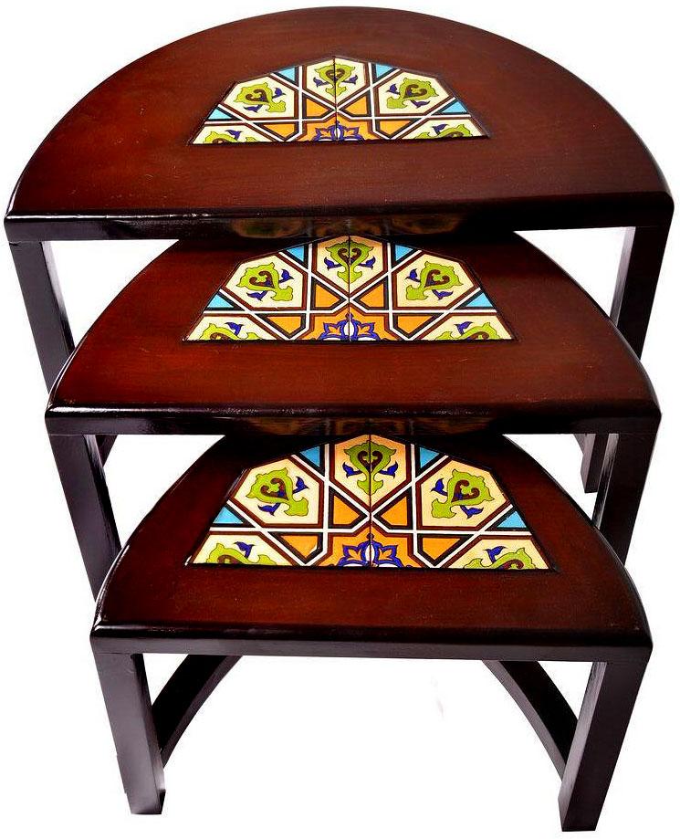 خرید میز عسلی چوبی