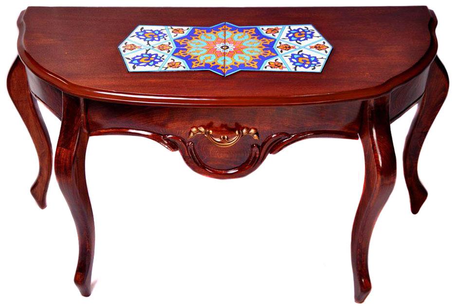 میز کنسول چوبی سلطنتی