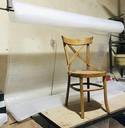 صندلی لهستانی با چوب راش