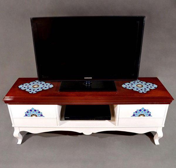 خرید میز تلویزیون چوبی کلاسیک
