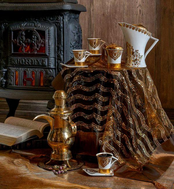 خرید سرویس چای خوری لوکس