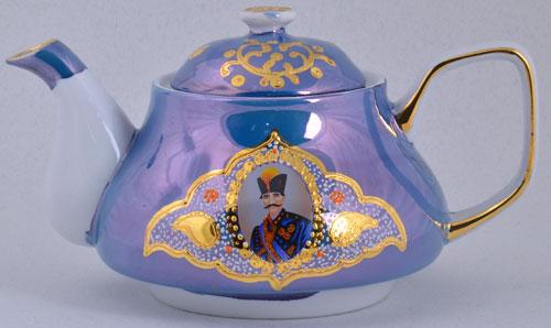 قوری سورمه ای شاه عباسی