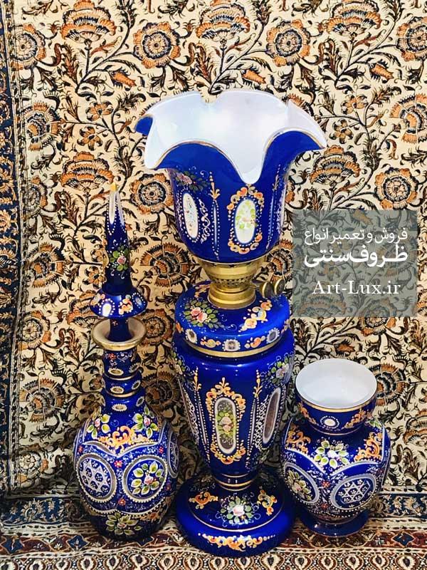 تنگ نیزه ای آبی لاجوردی 3 پوست