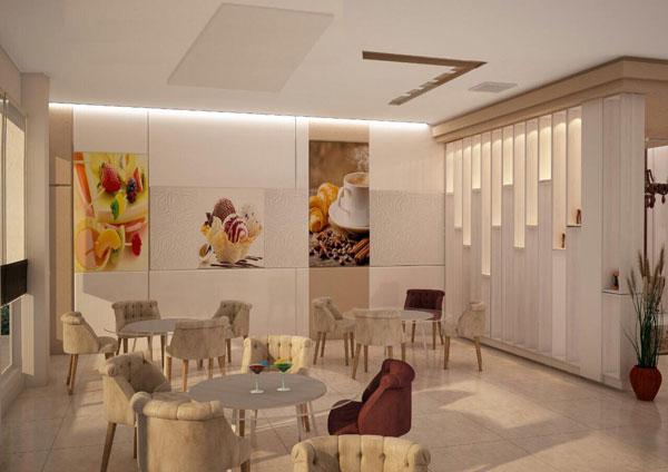 طراحی مبلمان رستوران
