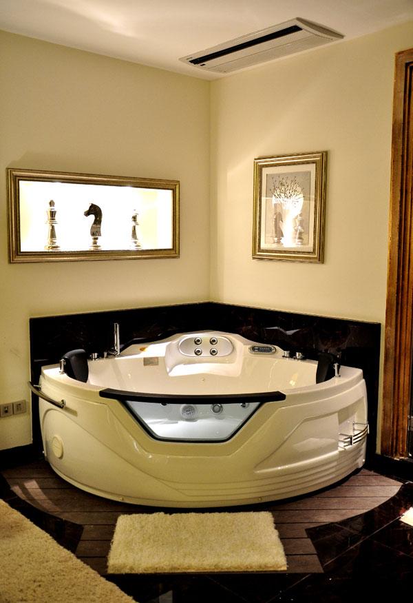 طراحی حمام هتل