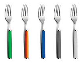 سرویس قاشق چنگال رنگی