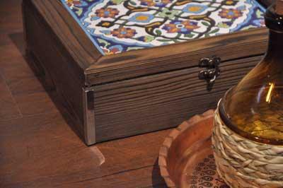 خرید جعبه پذیرایی چای احمد
