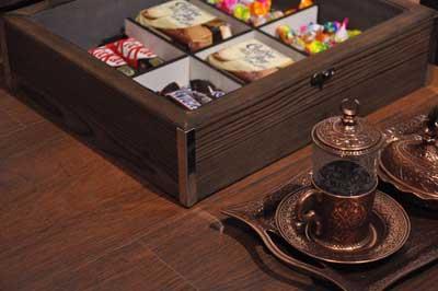 خرید جعبه پذیرایی چای