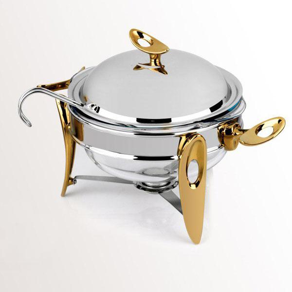 سوپ خوری وارمردار طلایی سایز متوسط