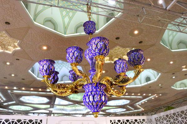 لوستر میناکاری اصفهان