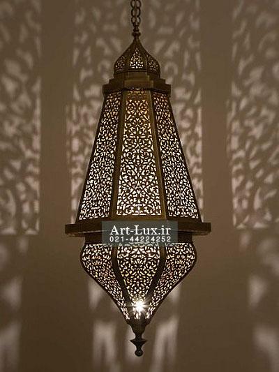 خرید لوستر رستوران مراکشی