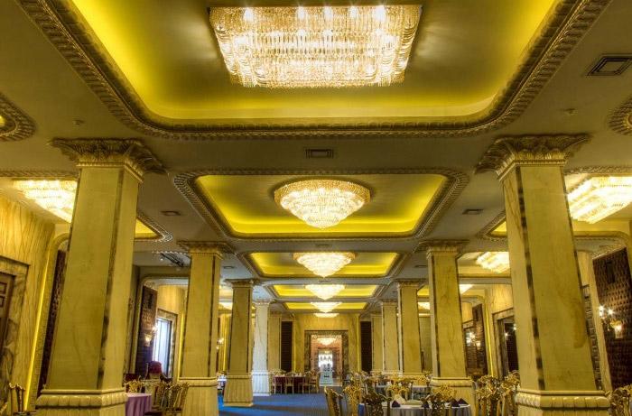 طراحی لوستر هتلینگ