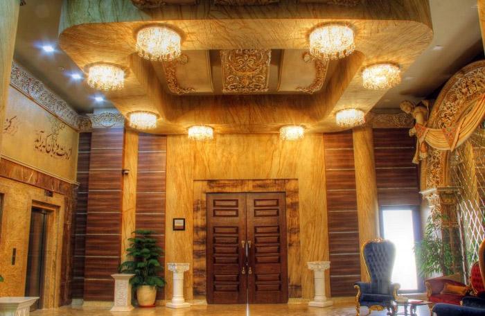 طراحی لوستر مسجدی