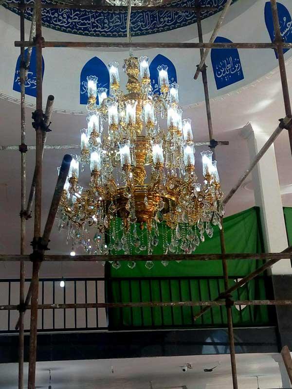 لوسترهای مسجدی