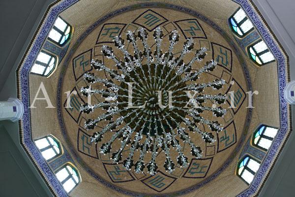 لوستر بزرگ جدید برای مسجد