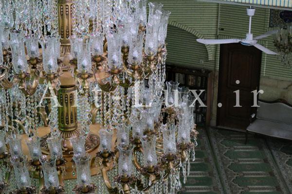 عکس لوستر مسجدي