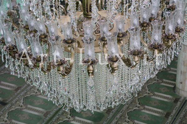 سازنده لوستر مسجدی بزرگ