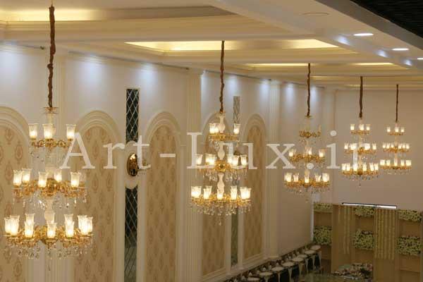 طراحی سقف تالار عروسی