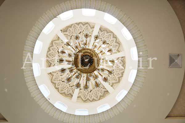 نورپردازی سقف تالار عروسی