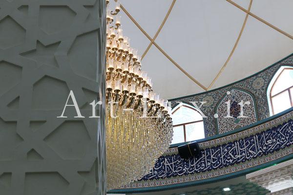 لوستر حباب دار مسجدی
