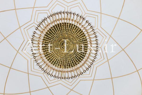 ساخت لوستر برای مسجدهای بزرگ