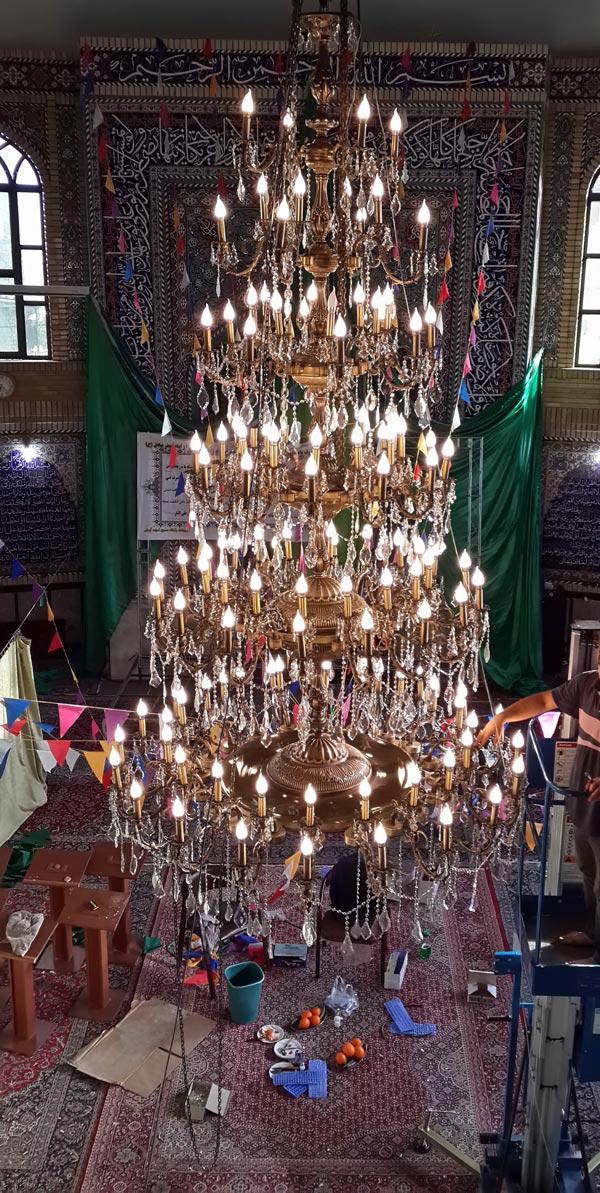 قیمت لوستر مسجدی