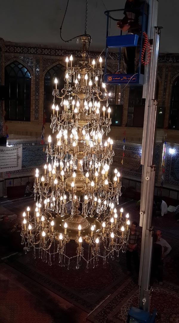 خرید  لوستر های مسجدی