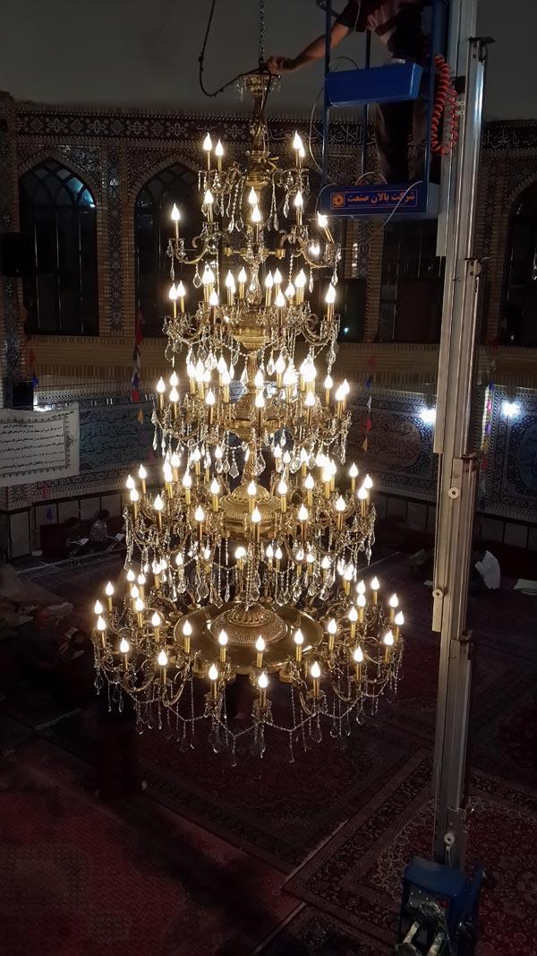 مدل لوستر مسجدی