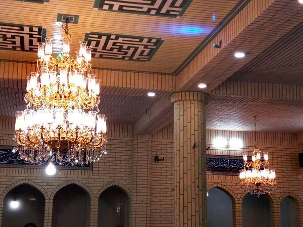 لوستر مدل مسجدی