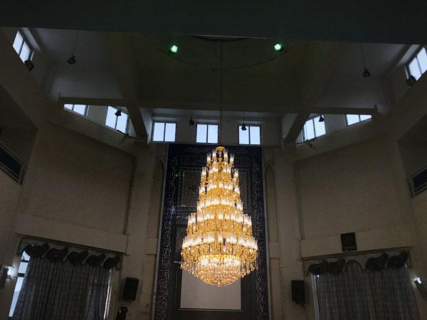 لوستر برای مسجد دانشگاه