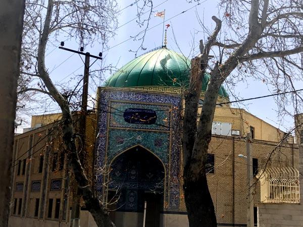 کارخانه لوستر سازی مسجد