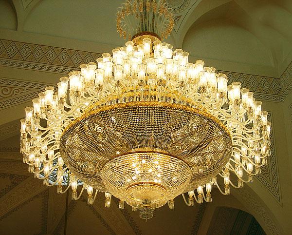 لوستر بزرگ برای مسجد