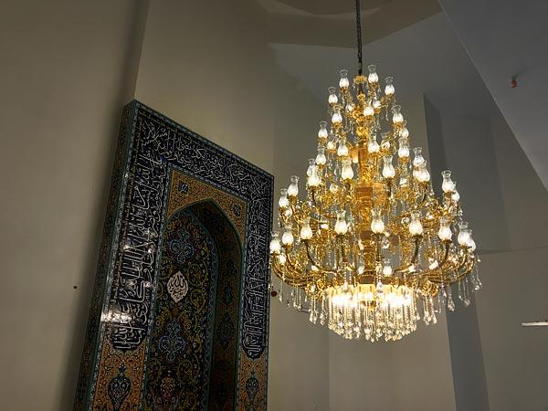 خرید لوسترهای حرم امام رضا