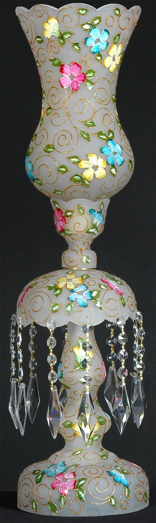 حباب و قپه و زنبق  چراغ لاله نوروزی