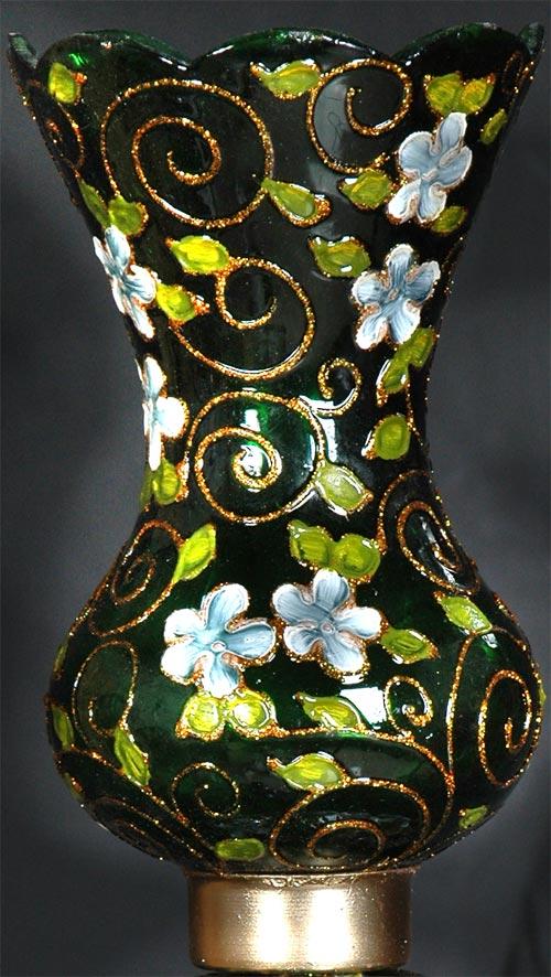 حباب چراغ لاله نوروزی سبز