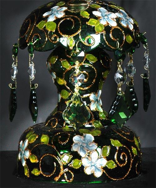 زنبق چراغ لاله نوروزی سبز
