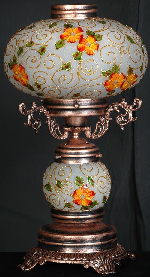 قطعات چراغ های رومیزی کلاسیک