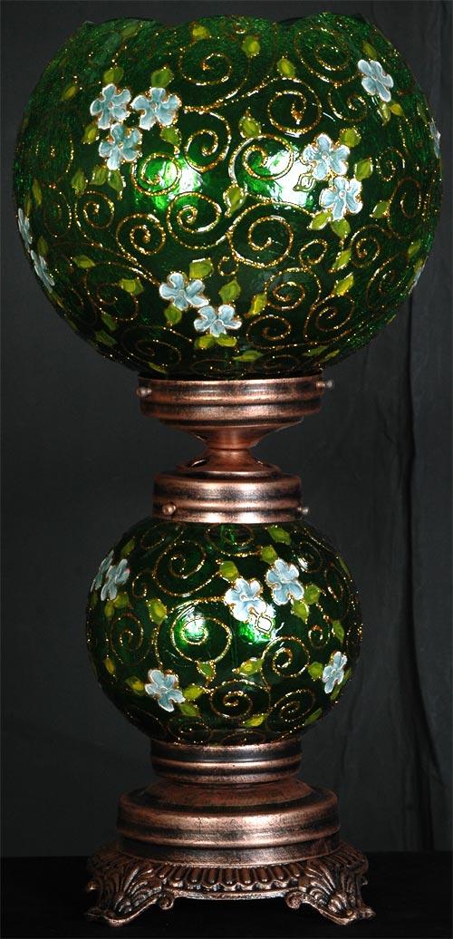 چراغ رومیزی سبز