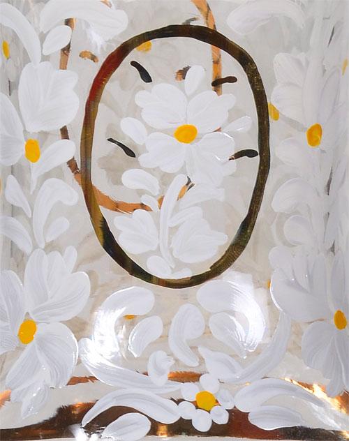 حباب شمعدان سلطنتی سفید
