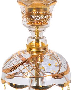 قپه و زنبق شمعدان طلایی لاله عباسی