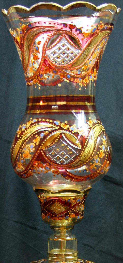 حباب و قپه شمعدان سلطنتی
