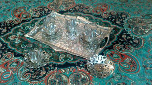 سینی چای خوری پیوتر ترکیه